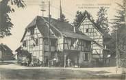 "68 Haut Rhin / CPA FRANCE 68 ""Dannemarie, café restaurant de la Carpe"""