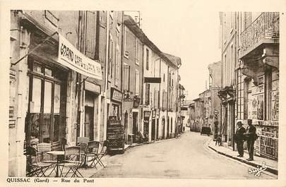 "CPA FRANCE 30 ""Quissac, rue du Pont"""