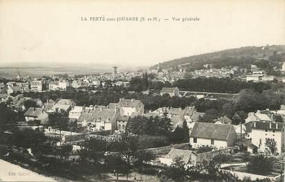 """/ CPA FRANCE 77 """"La Ferté sous Jouarre, vue générale"""""""