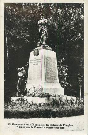 """/ CPSM FRANCE 77 """"Provins, monument aux morts"""""""