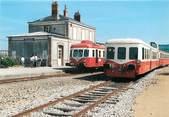 """53 Mayenne / CPSM FRANCE 53 """"Pré en Pail, chemin de fer touristiques du mont des Avaloirs"""" / TRAIN"""