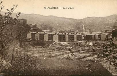 """CPA FRANCE 30 """"Molières, les Cités"""""""