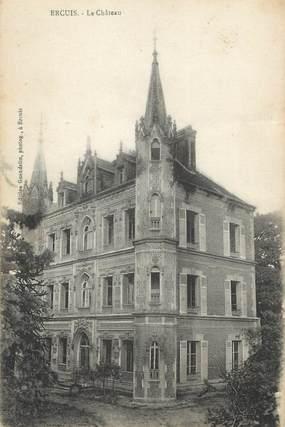 """/ CPA FRANCE 60 """"Ercuis, le château"""""""