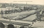 """15 Cantal CPA FRANCE 15  """"Aurillac, le pont Bourbon et la promenade du Gravier"""""""