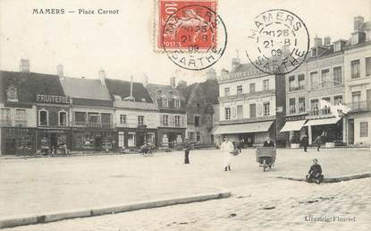 """/ CPA FRANCE 72 """"Mamers, place Carnot """""""