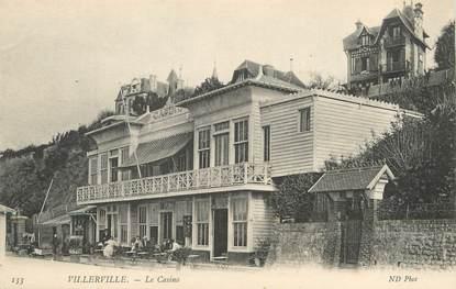 """/ CPA FRANCE 14 """"Villerville, le casino """""""