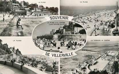 """/ CPSM FRANCE 14 """"Souvenir de Villerville """""""