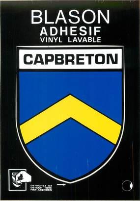 "/ CPM FRANCE 40 ""Capbreton"" / BLASON ADHESIF"