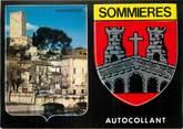 "30 Gard / CPM FRANCE 30 ""Sommières "" / BLASON ADHESIF"