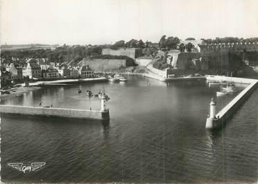 """/ CPSM FRANCE 56 """"Belle Isle en Mer, le Palais, l'avant port """""""