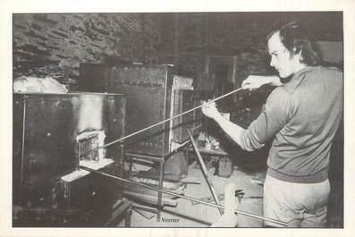 """/ CPM FRANCE 56 """"Fête Artisanale de Caro 5 juillet 1981, nr 116, Marc Daligaut, moulin de Caléon à Saint Jacut les Pins"""""""
