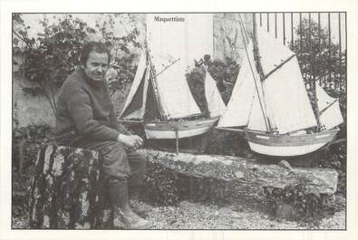 """/ CPM FRANCE 56 """"Fête Artisanale de Caro 5 juillet 1981, nr 116, François Corlay, maquettiste"""""""