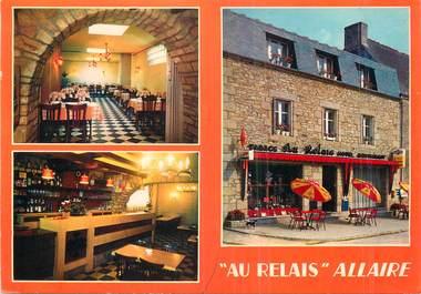 """/ CPM FRANCE 56 """"Allaire, hôtel restaurant au relais"""""""
