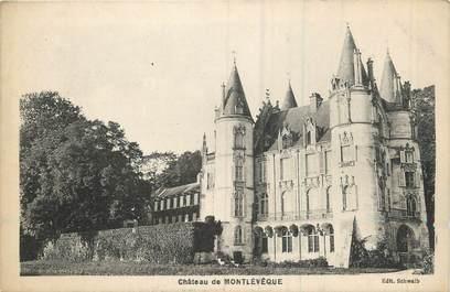 """/ CPA FRANCE 60 """"Château de Mont Levêque"""""""