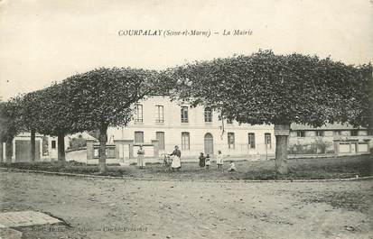 """CPA FRANCE 77 """"Courpalay, la mairie"""""""