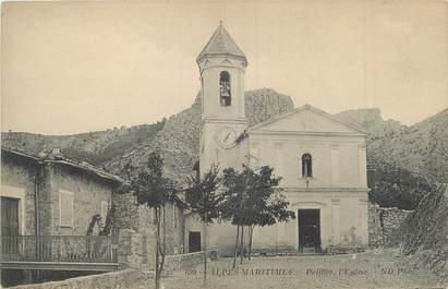 "/ CPA FRANCE 06 ""Peillon, l'église"""
