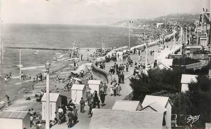 """/ CPSM FRANCE 14 """"Villers sur Mer, la plage vers Deauville"""""""