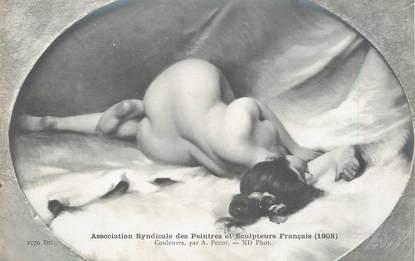 """/ CPA NU / ASSOCIATION SYNDICALE DES PEINTRES ET SCULPTEURS  FRANCAIS nr 2570 Dt """"Couleuvre par A. Penot"""""""