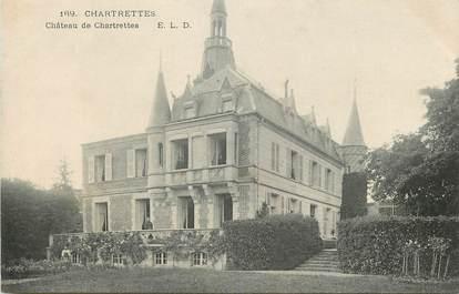 "CPA FRANCE 77 ""Chartrettes, le chateau"""
