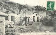 """02 Aisne / CPA FRANCE 02 """"Laon, les Creutes, habitations préhistoriques"""""""