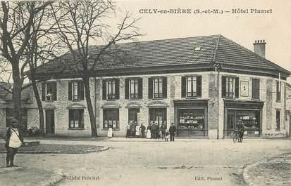 """CPA FRANCE 77 """"Cély en Bière, Hotel Plumet"""""""