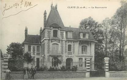 "CPA FRANCE 77 ""Claye Souilly, la beuvronnette"""