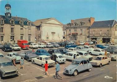 """/ CPSM FRANCE 56 """"Muzillac, place de l'hôtel de ville"""""""