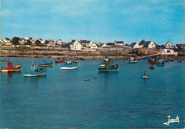 """/ CPSM FRANCE 56 """"Kerroch, le port"""""""
