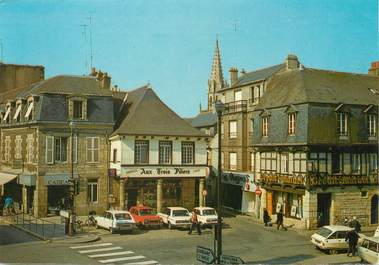 "/ CPSM FRANCE 56 ""Pontivy, la place du Martray """