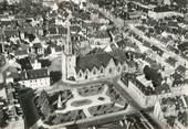 """56 Morbihan / CPSM FRANCE 56 """"Pontivy, église Notre Dame de Joie et square de la Fédération"""""""