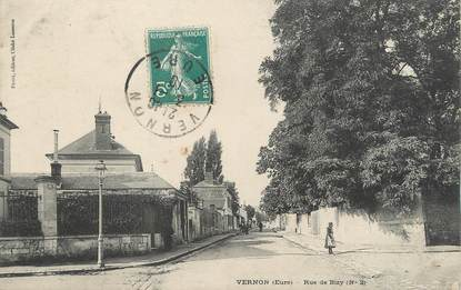 "/ CPA FRANCE 27 ""Vernon, rue de Bizy"""