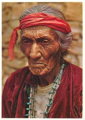 """CPSM USA """"Navajo Medecine Man"""""""