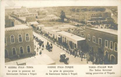 "CPA  LIBYE  ""Tripoli"" / Guerre Italie Turque"