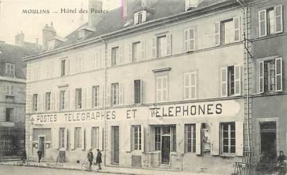 """/ CPA FRANCE 03 """"Moulins, hôtel des postes"""""""