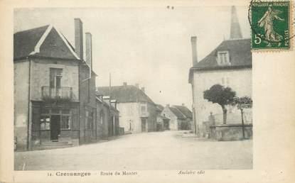 """/ CPA FRANCE 03 """"Cressanges, route de Montet"""""""