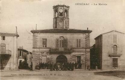 "CPA FRANCE 30  ""Générac, La Mairie"""