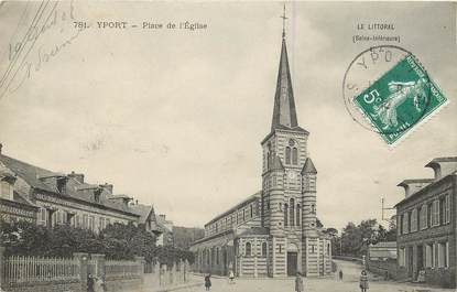 """CPA FRANCE 76  """"Yport"""""""