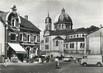 """/ CPSM FRANCE 57 """"Creutzwald, la place du marché et l'église"""""""