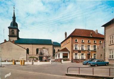 """/ CPSM FRANCE 57 """"Albestroff, restaurant Charles Boyon, et l'église"""""""