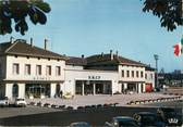"57 Moselle / CPSM FRANCE 57 ""Forbach, la gare"""