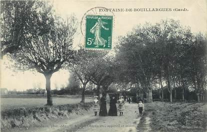 """CPA FRANCE 30  """"Fontaine de Bouillargues"""""""