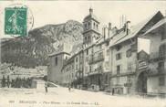 """05 Haute Alpe / CPA FRANCE 05 """"Briançon, place Méanne, la grande poste"""""""