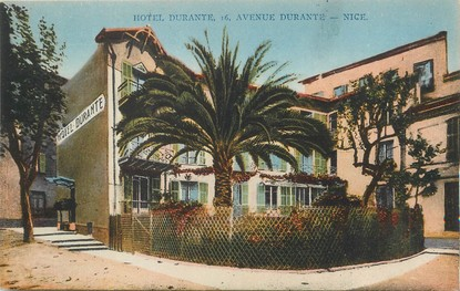 "/ CPA FRANCE 06 ""Nice, hôtel Durante"""