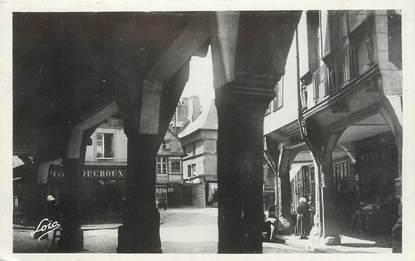 """/ CPSM FRANCE 22 """"Dinan, les porches, rue de l'apport"""""""