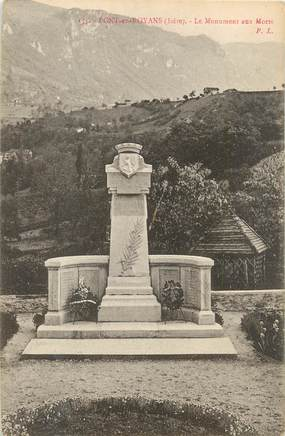 """/ CPA FRANCE 26 """"Pont en Royans, le monument aux morts"""""""