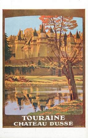 Touraine, chateau d'Ussé