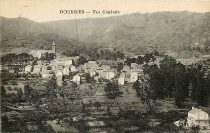 """CPA FRANCE 30  """"Dourbies, vue générale"""""""