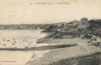 """/ CPA FRANCE 22 """"Saint Cast, le port et la plage"""""""