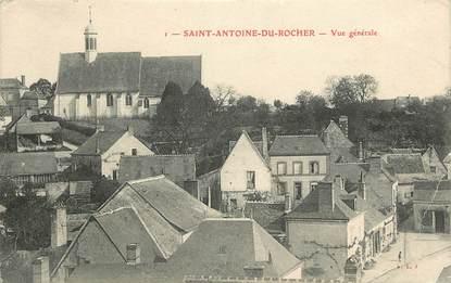 Saint Antoine du Rocher, vue générale
