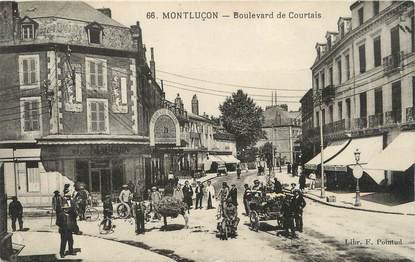 "/ CPA FRANCE 03 ""Montluçon, bld de Courtais """